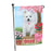 Rosie 25 Cent Kisses American Eskimo Dog Garden Flag GFLG56337