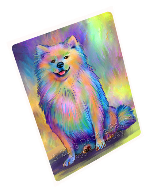 "Paradise Wave American Eskimo Dog Magnet MAG75195 (Small 5.5"" x 4.25"")"