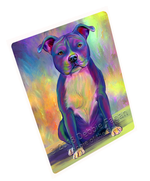 "Paradise Wave American Staffordshire Terrier Dog Magnet MAG75198 (Small 5.5"" x 4.25"")"