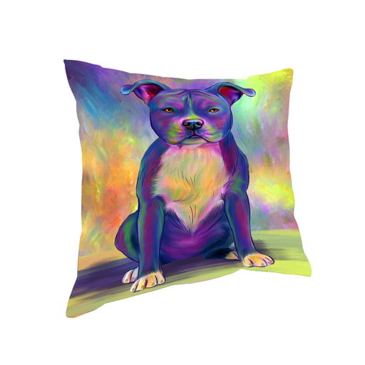 Paradise Wave American Staffordshire Terrier Dog Pillow PIL81040