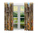 Haunted House Halloween Trick or Treat Anatolian Shepherd Dogs Window Curtain