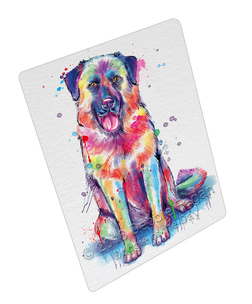 Watercolor Anatolian Shepherd Dog Refrigerator / Dishwasher Magnet RMAG105534