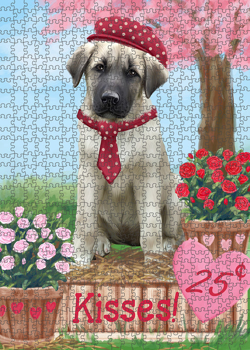 Rosie 25 Cent Kisses Anatolian Shepherd Dog Puzzle with Photo Tin PUZL91384