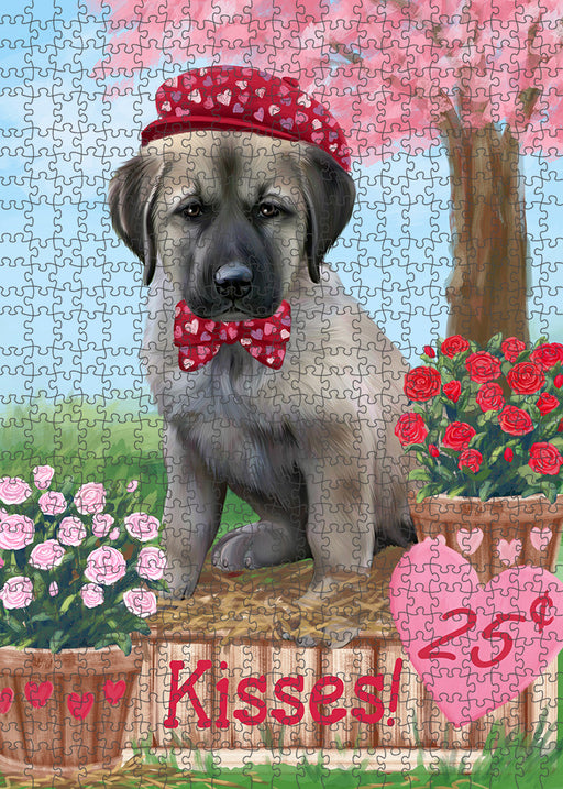 Rosie 25 Cent Kisses Anatolian Shepherd Dog Puzzle with Photo Tin PUZL91388