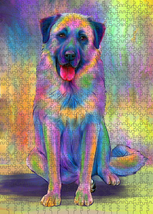 Paradise Wave Anatolian Shepherd Dog Puzzle with Photo Tin PUZL94952
