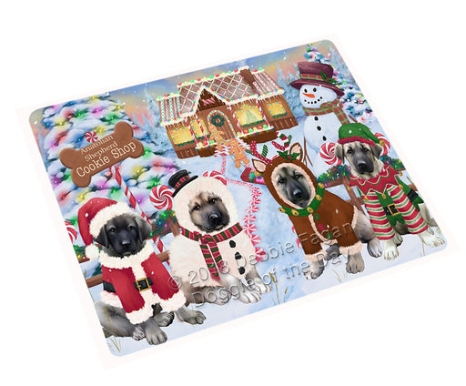 "Holiday Gingerbread Cookie Shop Anatolian Shepherds Dog Magnet MAG73425 (Small 5.5"" x 4.25"")"