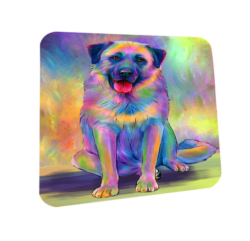 Paradise Wave Anatolian Shepherd Dog Coasters Set of 4 CST56646