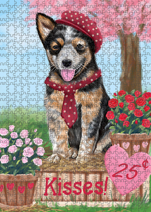 Rosie 25 Cent Kisses Australian Cattle Dog Puzzle with Photo Tin PUZL91396