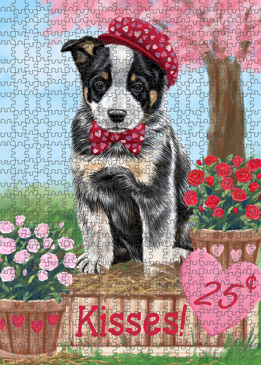 Rosie 25 Cent Kisses Australian Cattle Dog Puzzle with Photo Tin PUZL91400