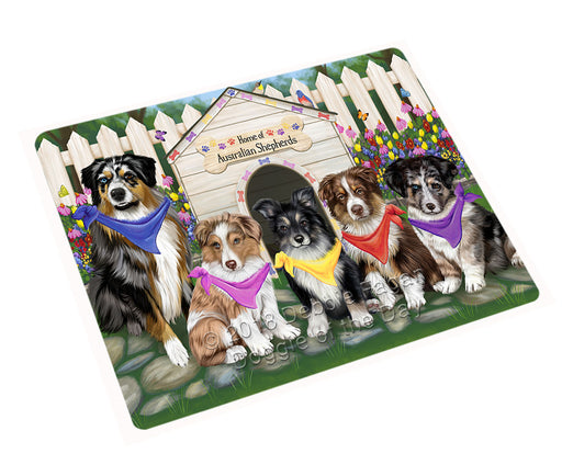 "Spring Dog House Australian Shepherds Dog Magnet Mini (3.5"" x 2"") MAG53187"
