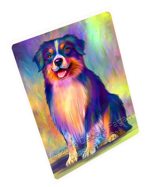 Paradise Wave Australian Shepherd Dog Cutting Board C75204