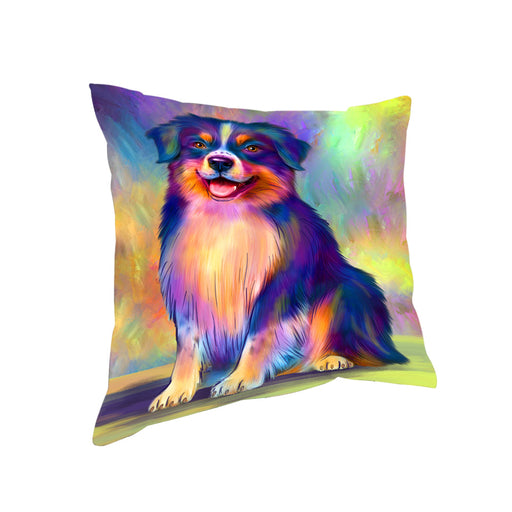 Paradise Wave Australian Shepherd Dog Pillow PIL81048