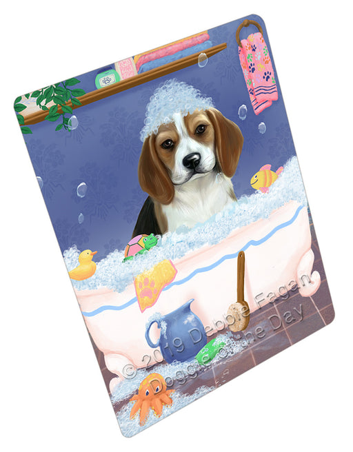 Rub A Dub Dog In A Tub Beagle Dog Refrigerator / Dishwasher Magnet RMAG108780