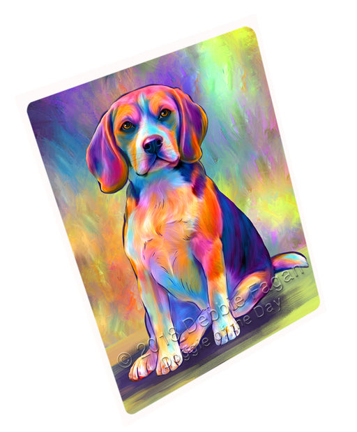 "Paradise Wave Beagle Dog Magnet MAG75213 (Small 5.5"" x 4.25"")"