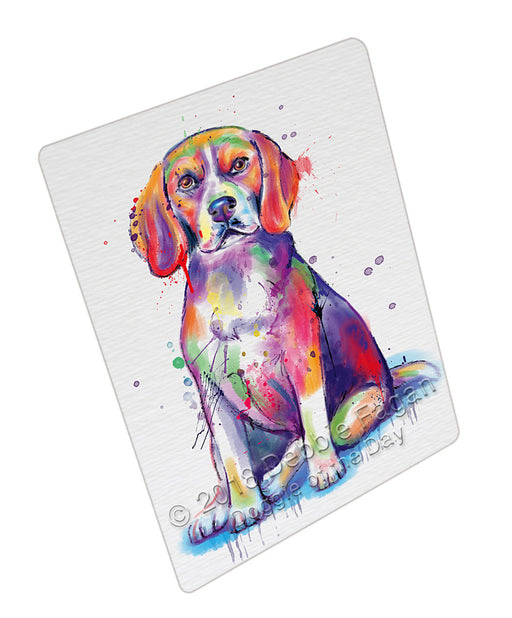 Watercolor Beagle Dog Refrigerator / Dishwasher Magnet RMAG104844
