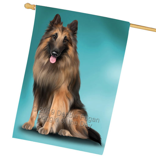 Belgian Tervuren Dog House Flag FLG65571