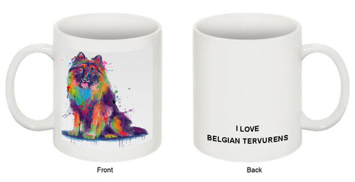 Watercolor Belgian Tervuren Dog Coffee Mug MUG52935