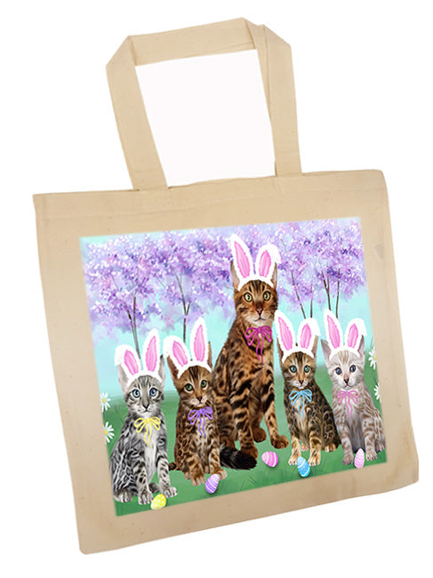 Easter Holiday Bengal Cats Tote TTE56874
