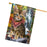 Scenic Waterfall Bengal Cat House Flag FLG51960