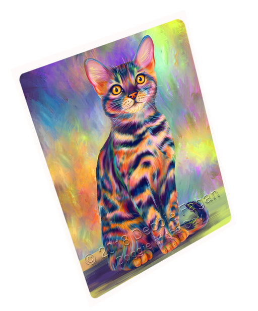 "Paradise Wave Bengal Cat Magnet MAG73302 (Mini 3.5"" x 2"")"
