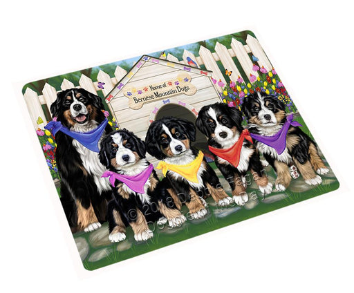 "Spring Dog House Bernese Mountain Dogs Magnet Small (5.5"" x 4.25"") mag53238"