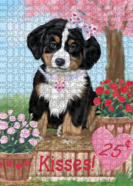 Rosie 25 Cent Kisses Bernese Mountain Dog Puzzle with Photo Tin PUZL91492