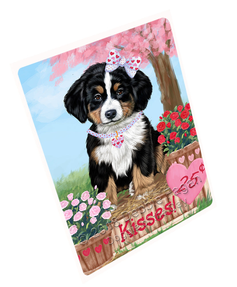 "Rosie 25 Cent Kisses Bernese Mountain Dog Magnet MAG72603 (Mini 3.5"" x 2"")"