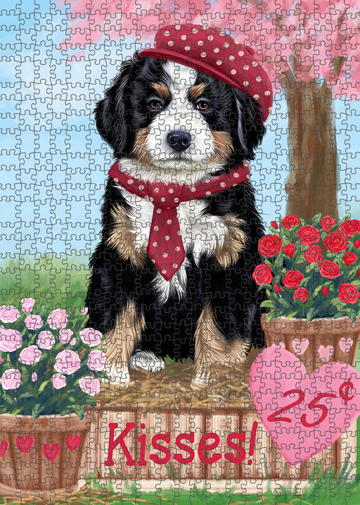 Rosie 25 Cent Kisses Bernese Mountain Dog Puzzle with Photo Tin PUZL91496