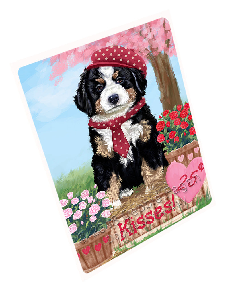 "Rosie 25 Cent Kisses Bernese Mountain Dog Magnet MAG72606 (Mini 3.5"" x 2"")"