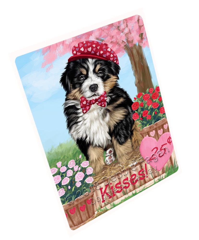 "Rosie 25 Cent Kisses Bernese Mountain Dog Magnet MAG72609 (Mini 3.5"" x 2"")"