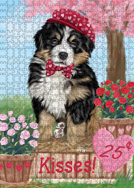 Rosie 25 Cent Kisses Bernese Mountain Dog Puzzle with Photo Tin PUZL91500