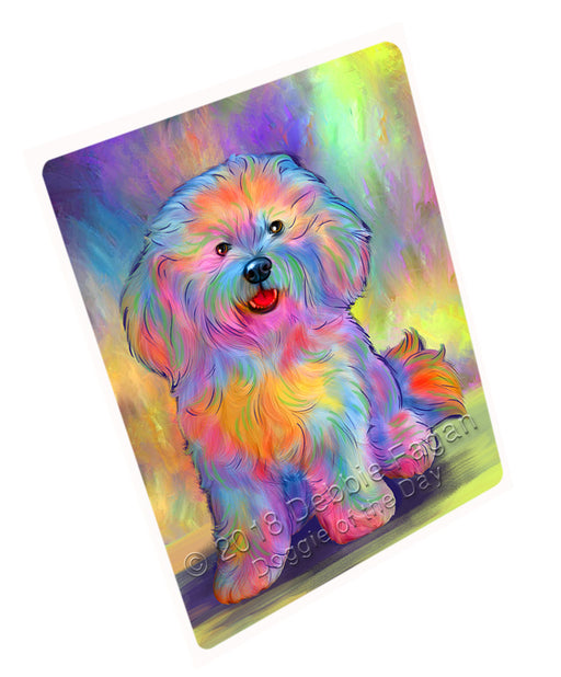 "Paradise Wave Bichon Frise Dog Magnet MAG75219 (Small 5.5"" x 4.25"")"