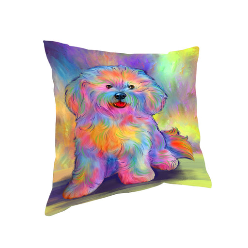 Paradise Wave Bichon Frise Dog Pillow PIL81068