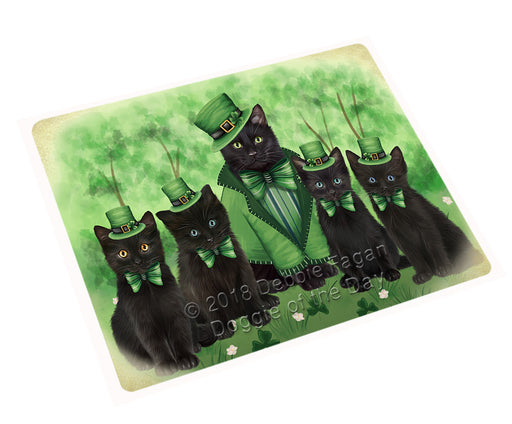 St. Patricks Day Irish Portrait Black Cats Refrigerator / Dishwasher Magnet RMAG104328