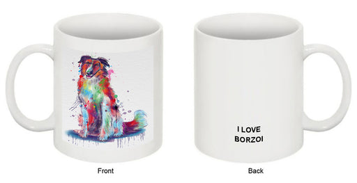Watercolor Borzoi Dog Coffee Mug MUG52940