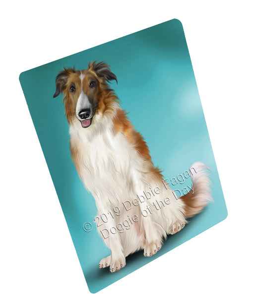 Borzoi Dog Blanket BLNKT138261