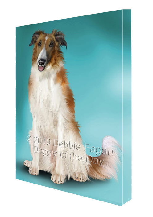 Borzoi Dog Canvas Print Wall Art Décor CVSA138878