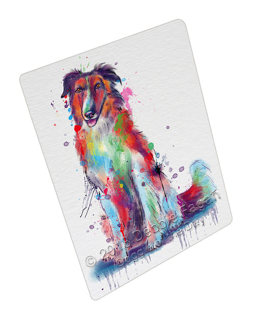 Watercolor Borzoi Dog Refrigerator / Dishwasher Magnet RMAG110220