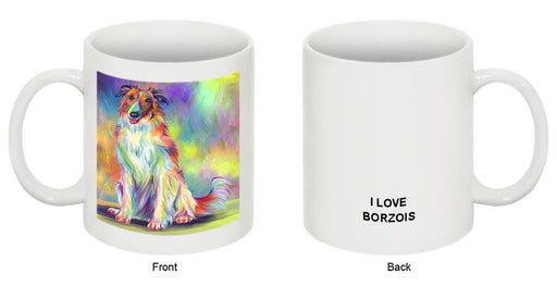 Paradise Wave Borzoi Dog Coffee Mug MUG52898