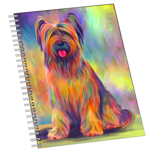 Paradise Wave Briard Dog Notebook NTB55684