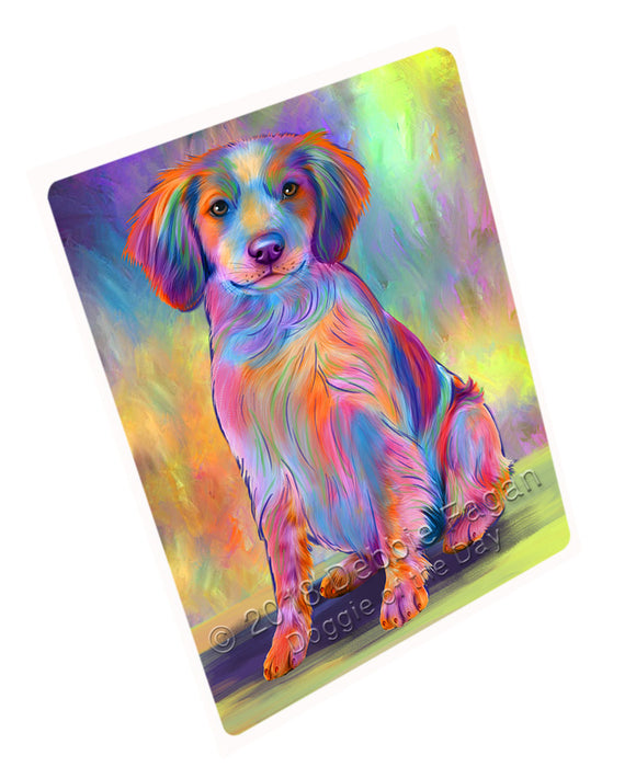 "Paradise Wave Brittany Spaniel Dog Magnet MAG75225 (Small 5.5"" x 4.25"")"