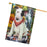 Scenic Waterfall Bull Terrier Dog House Flag FLG51978