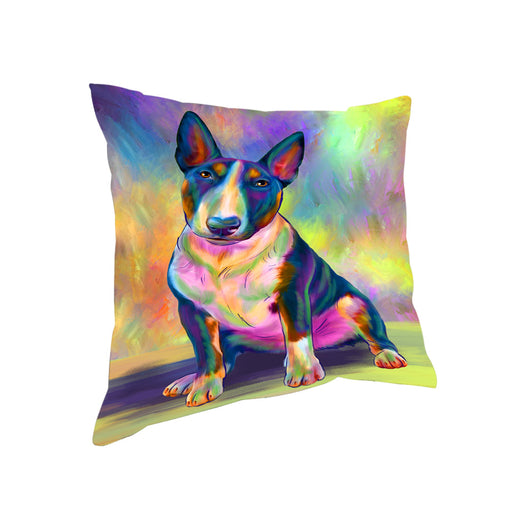 Paradise Wave Bull Terrier Dog Pillow PIL81080