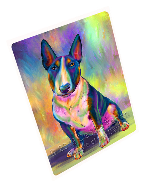 "Paradise Wave Bull Terrier Dog Magnet MAG75228 (Small 5.5"" x 4.25"")"