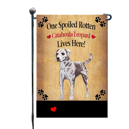 Personalized Spoiled Rotten Catahoula Leopard Dog GFLG-DOTD-A63161