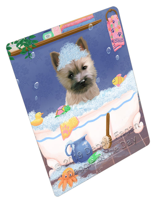 Rub A Dub Dog In A Tub Cairn Terrier Dog Refrigerator / Dishwasher Magnet RMAG108960