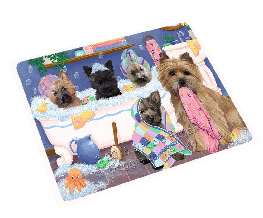 Rub A Dub Dogs In A Tub Cairn Terriers Dog Large Refrigerator / Dishwasher Magnet RMAG102930