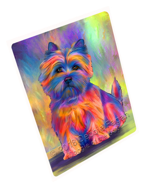 Paradise Wave Cairn Terrier Dog Large Refrigerator / Dishwasher Magnet RMAG102462