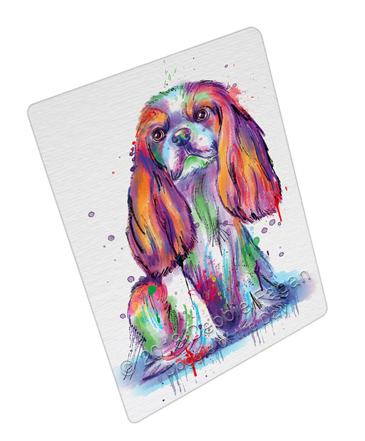 Watercolor Cavalier King Charles Spaniel Dog Refrigerator / Dishwasher Magnet RMAG104886