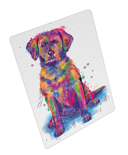 Watercolor Chesapeake Bay Retriever Dog Refrigerator / Dishwasher Magnet RMAG104892